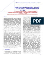 MULTIDISCIPLINARY DE SIGN AND FLIGHT TEST ING OF A REMOTE GAS/PART ICLE AIRBORNE SENSOR   SYSTEM