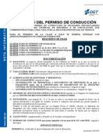 Documentación Necessaria Carnet c