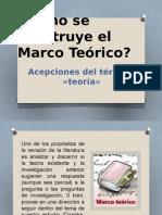 Cómo Se Construye El Marco Teórico