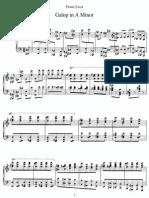 Liszt Galop