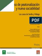 Proceso de Peatonalizacion y Nueva Sociabilidad