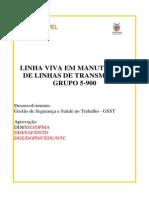 Manutenção de Linhas de Transmissão Em Linha Viva_rev 2013
