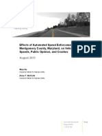Study by the Insurance Institute for Highway Safety