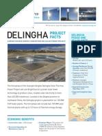 Delingha Fact Sheet