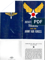 WWII 1943 Army Air Force Brochure