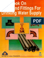 Sp 57 Handbook on Pipes & Fittings for Drinking Water Supply