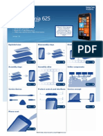 Disassembly NokService Manual for L1 and L2 Nokia Lumia 625 RM-941, RM-942, RM-943ia 625