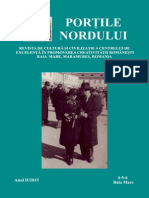 Revista Portile Nordului, nr.4-5-6, anul II, 2015