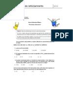 Guia matematicas 6° básico porcentajes