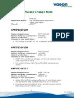 ReleaseNote APFIF131V130