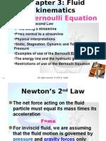 Chaptwer 3. Fluid Mechanics 1 (Section-I) Fluid Kinematics. P.E