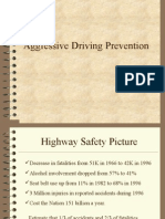 Aggressive Driving Prevention