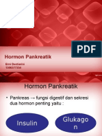 Pancreatic hormone