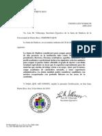 Requisito de doctorado para ocupar puestos de alta gerencia en UPR