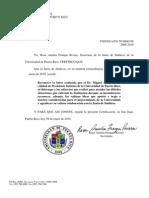 Reconocer labor DR. Miguel Muñoz