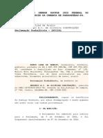 Reclamatoria Bento - Antonio Carlos Construções