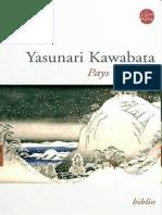 Yasunari Kawabata - Pays de Neige