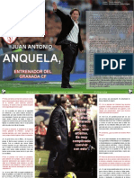 Entrevista a Juan Antonio Anquela Entrenador Del Granada Cf