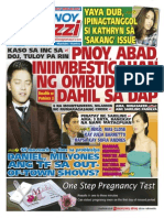 Pinoy Parazzi Vol 8 Issue 107 September 02 - 03, 2015