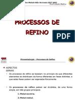 PiroNF Aula 07 Processos de Refino 2015-01
