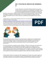 ACUARELAS, ÓLEOS Y TÉCNICAS MIXTAS DE MªJOSÉ BARRERA GARRIDO
