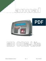 Manual Software MDCom-Lite Rev11