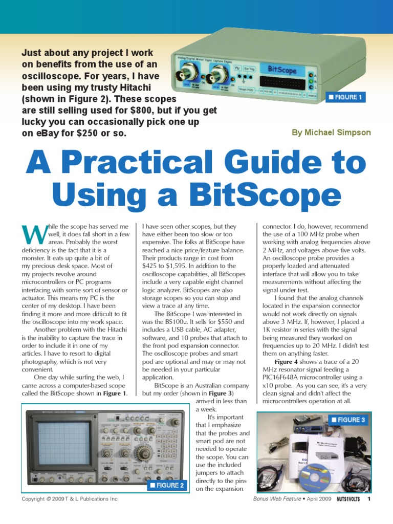 A Practical Guide to Using a Bitscope | Windows Vista