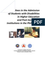 CHED Guidelines