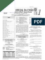 Diário Oficial da União - Seção 1 Edição nr 166 de 31/08/2015 Pág. 1