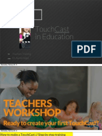 touchcast teacher training tutorial