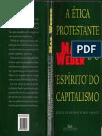 A ética Protestante e o Espirito do Capitalismo(CompanhiadasLetras)