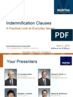 WESFACCA Indemnification Issues (2011)