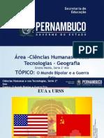 ProfessorAutor\Geografia\Geografia  Ι  2º ano  Ι  Médio\O mundo Bipolar e a Guerra Fria