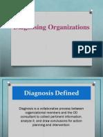 Diagnosing Organizations