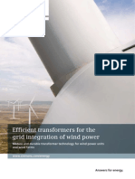 Transformers for Wind-power