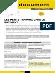 Conseil 621 Fj111-Petite Travaux Dans Le Batiment