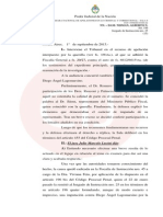 Ratificaron a Fein al frente de la investigación por la muerte de Nisman