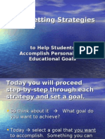 Goal-Setting Strategies