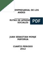 Rutas de Sociales Juan Sebastian Monje