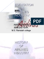 Airlines Industry