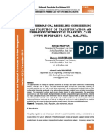 Mathematical Modelling Cons. Air Pollution, Malaysia