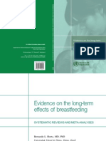 Evident Effects Long Term of Breastfeeding