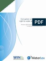 2013 WaterLex WIN Corruption and the HRWS