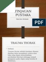 Trauma Thorax Tipus