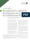 T03 El Analisis de la Calidad de las relaciones en el ámbito de las Relaciones Públicas
