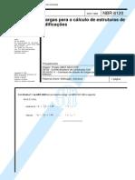 NBR 6120 - Cargas Para o Calculo de Estruturas de Edificacoes