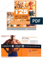 Focus T25 Get It Done Nutrition Guide | Salsa (Sauce) | Meal