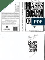 Bases Para La Educacion Cristiana(2)
