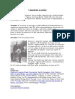 Compositores Argentinos 1900