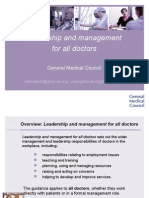 Leadership and Management for All Doctors Presentation.ppt 47043799